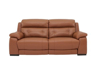 Magnificent Ease 3 Seater Leather Recliner Sofa Download Free Architecture Designs Grimeyleaguecom