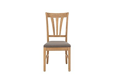 Maison Slatted Dining Chair in Almond on Furniture Village