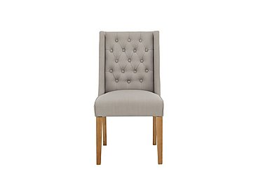 Maison Upholstered Dining Chair in Almond on Furniture Village
