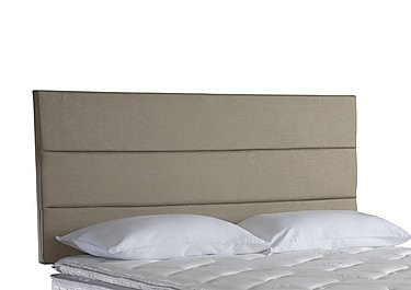 Bradley Strutted Headboard in Fawn on Furniture Village
