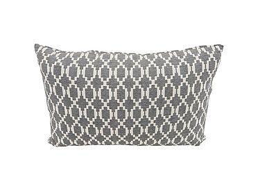 Connection Fabric Bolster Cushion in Finchley Grey on Furniture Village