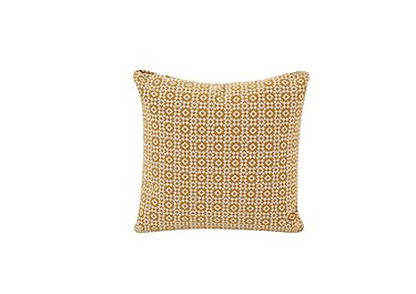 Sigrid Scatter Cushion in Kirkland Yellow on Furniture Village