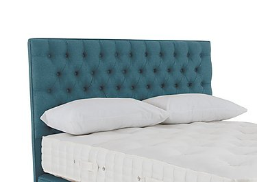 Lacey Floorstanding Headboard in Imperio 602 Turquoise on Furniture Village