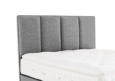 Hampden Floorstanding Headboard in Tweed 803 Grey on Furniture Village