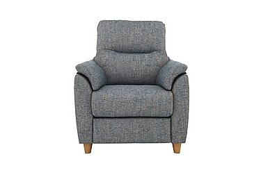 Spencer Fabric Recliner Armchair in A020 Dapple Kingfisher on Furniture Village
