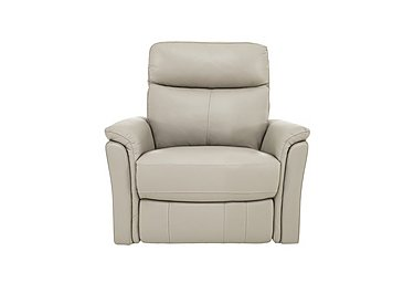 Compact Collection Piccolo Recliner Armchair in Bv-041e Silver Grey on Furniture Village