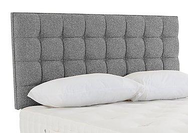 Adcote Bed Fixing Headboard in Tweed 803 Grey on Furniture Village