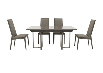 b8ce92440a Movado Extending Dining Table and 4 Dining Chairs - ALF - Furniture ...