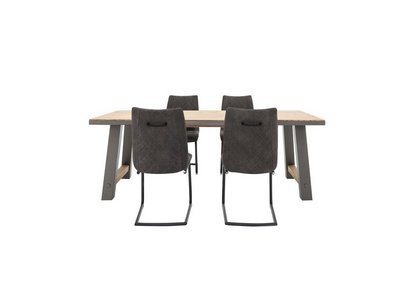 be150ebe7a Baltimore Medium Table and 4 Chairs - Furniture Village