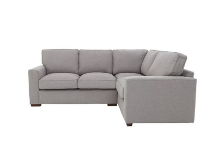 pretty nice feaf4 e3cda Comfi Classic Back Fabric Corner Sofa
