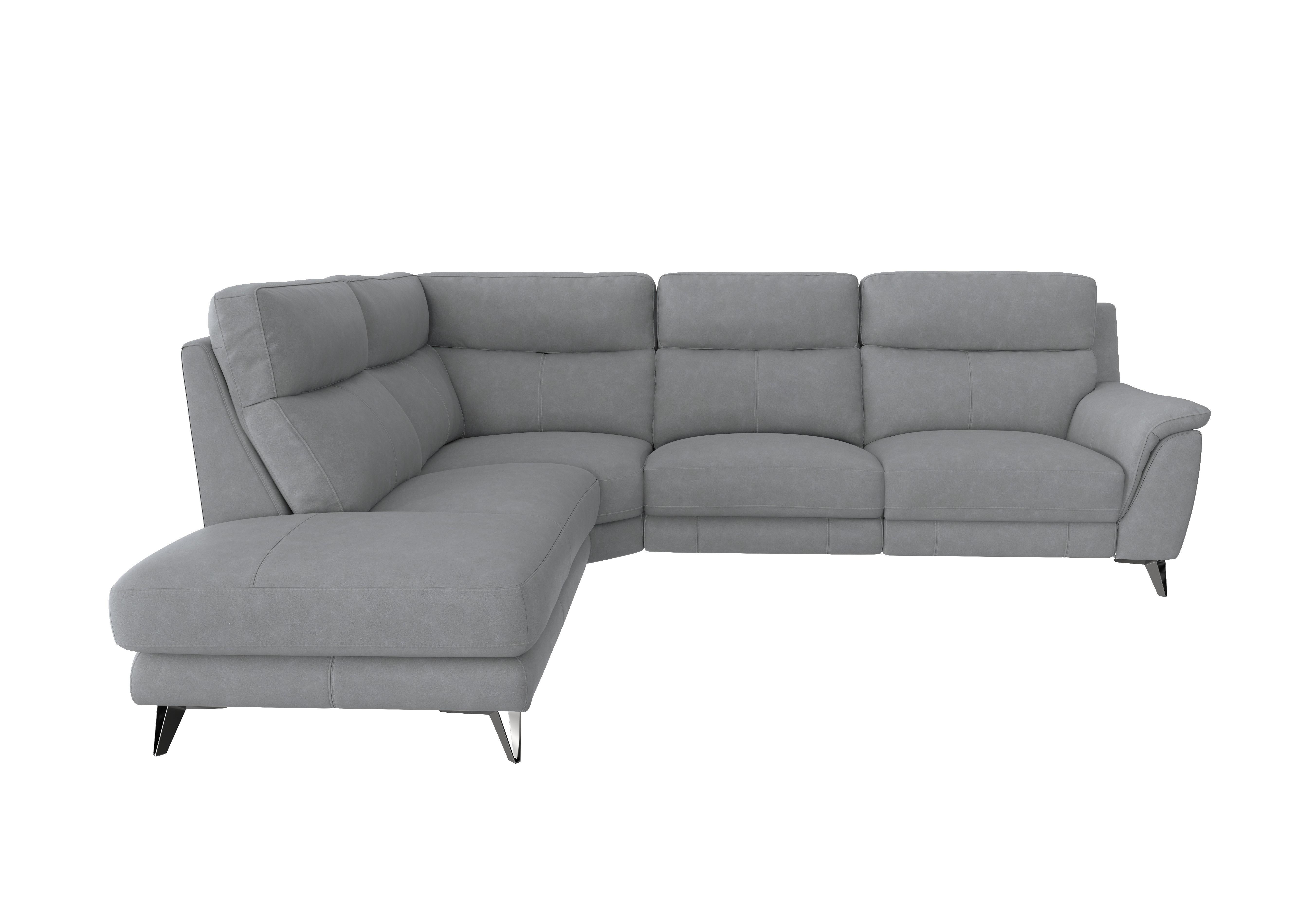 Picture of: Contempo 3 Seater Chaise End Fabric Power Recliner Sofa Furniture Village