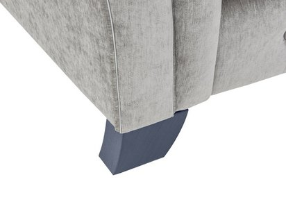 Cloudy Bay 4 Seater Pillow Back Fabric Split Frame Sofa