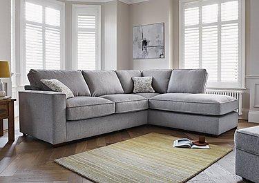 Marvelous Comfi Fabric Classic Back Corner Sofa With Chaise End Sofa Bed Inzonedesignstudio Interior Chair Design Inzonedesignstudiocom
