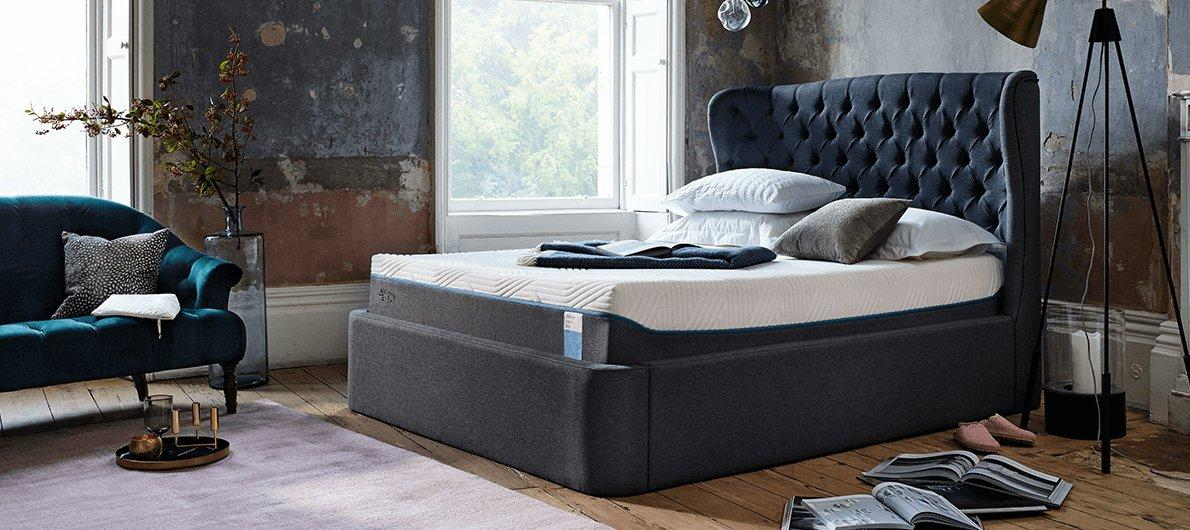 low priced 75d44 f6b24 Tempur mattresses, pillows and beds - Furniture Village