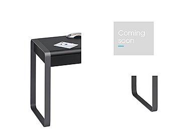 South Street 275 Computer Desk in Black Matt & Anthracite Metal on Furniture Village
