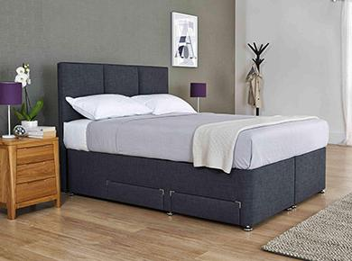 Beds adjustable divan tv bedsteads furniture village for Furniture village sale