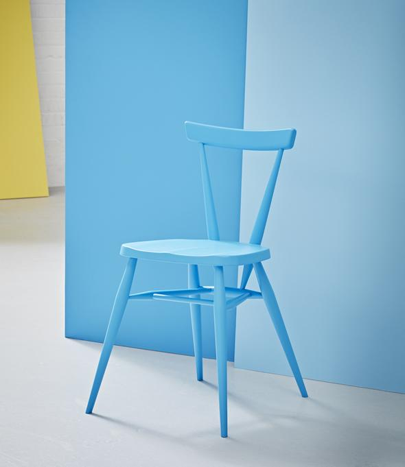 Blue Ercol Chair