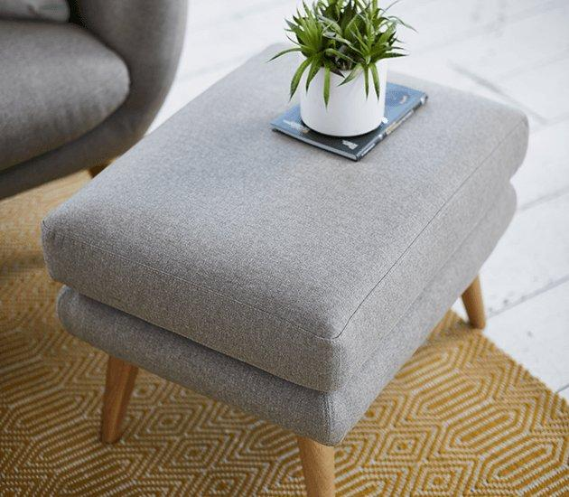 great looking comfort - footstools