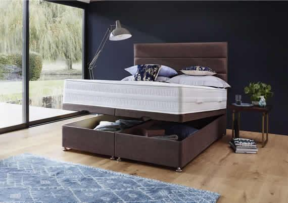 Romantic Bedrooms - Beds with storage