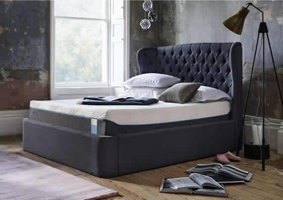Romantic bedrooms - Holcot Ottoman Bed Frame