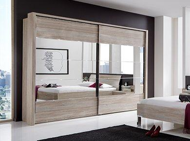 Bedroom furniture storage furniture village for Headboard and dresser