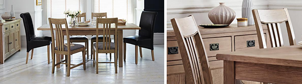 The Provence Dining Collection Is Warm And Rustic With A Gorgeous  Contemporary Washed Oak Finish. Thoughtfully Designed With Traditional  Finishing Touches.