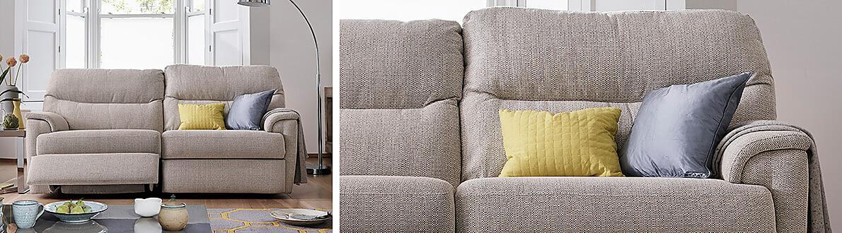 Watson Fabric 3 Seater Sofa Furniture Village
