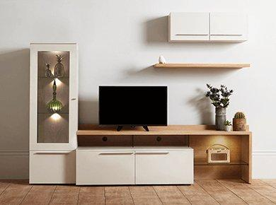 Living Room Storage Units Prepossessing Living Room Storage Cabinets And Units  Furniture Village