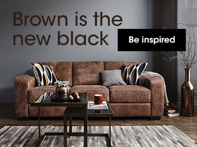 Brown is the black
