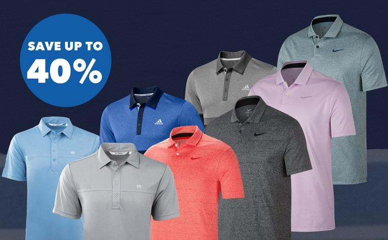 Save up to 40% on Polos for Dad