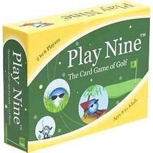 Jeu de cartes Play Nine Card Game of Golf