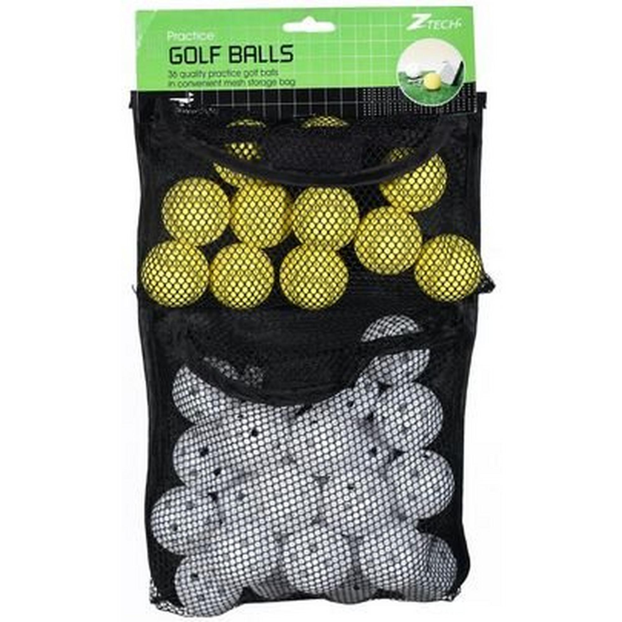 Foam and Airflow Balls in Mesh Bag