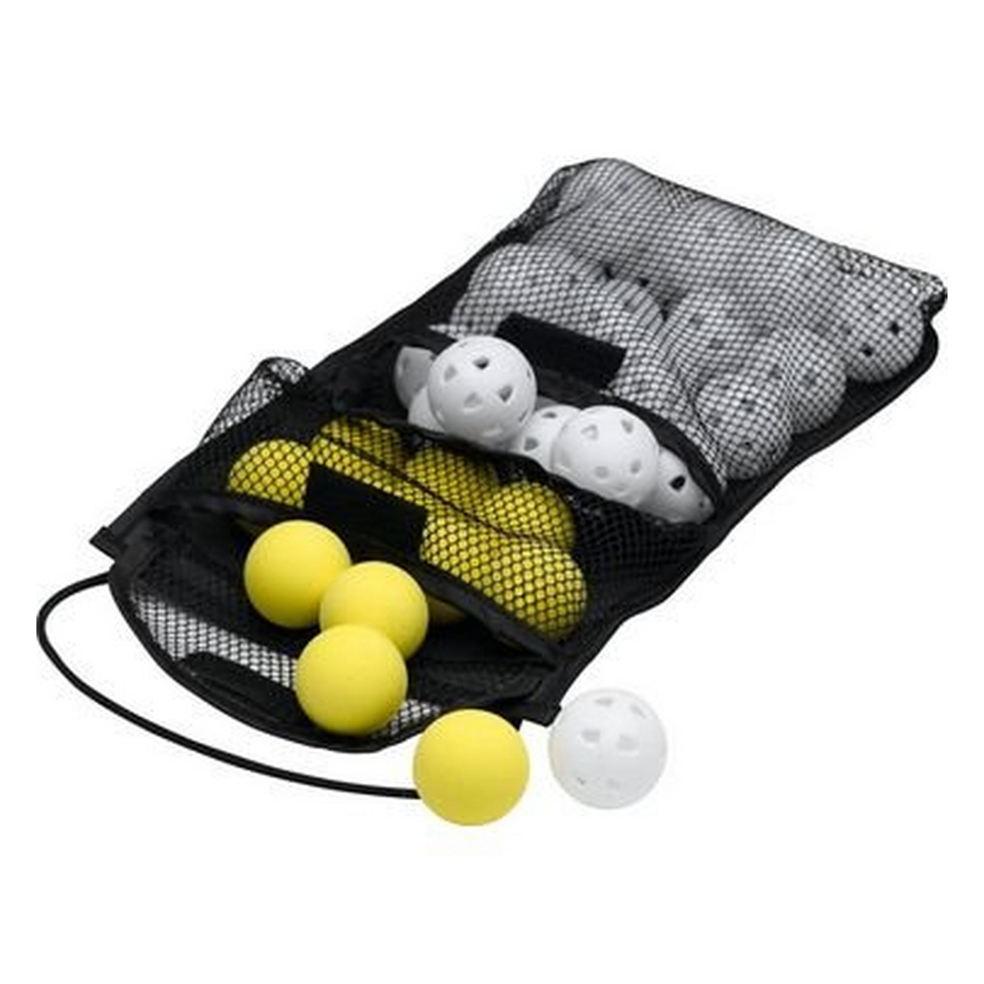 Foam and Airflow Balls in Mesh Bag