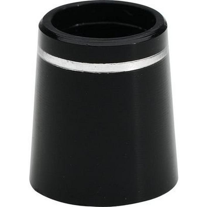 Ferrules Unit pour fers avec diamètre extérieur de 13.4 mm - Noir/Argent/Noir, paquet de 12