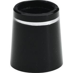Ferrules Unit pour bois, paquet de 12 - Noir/Argent/Noir