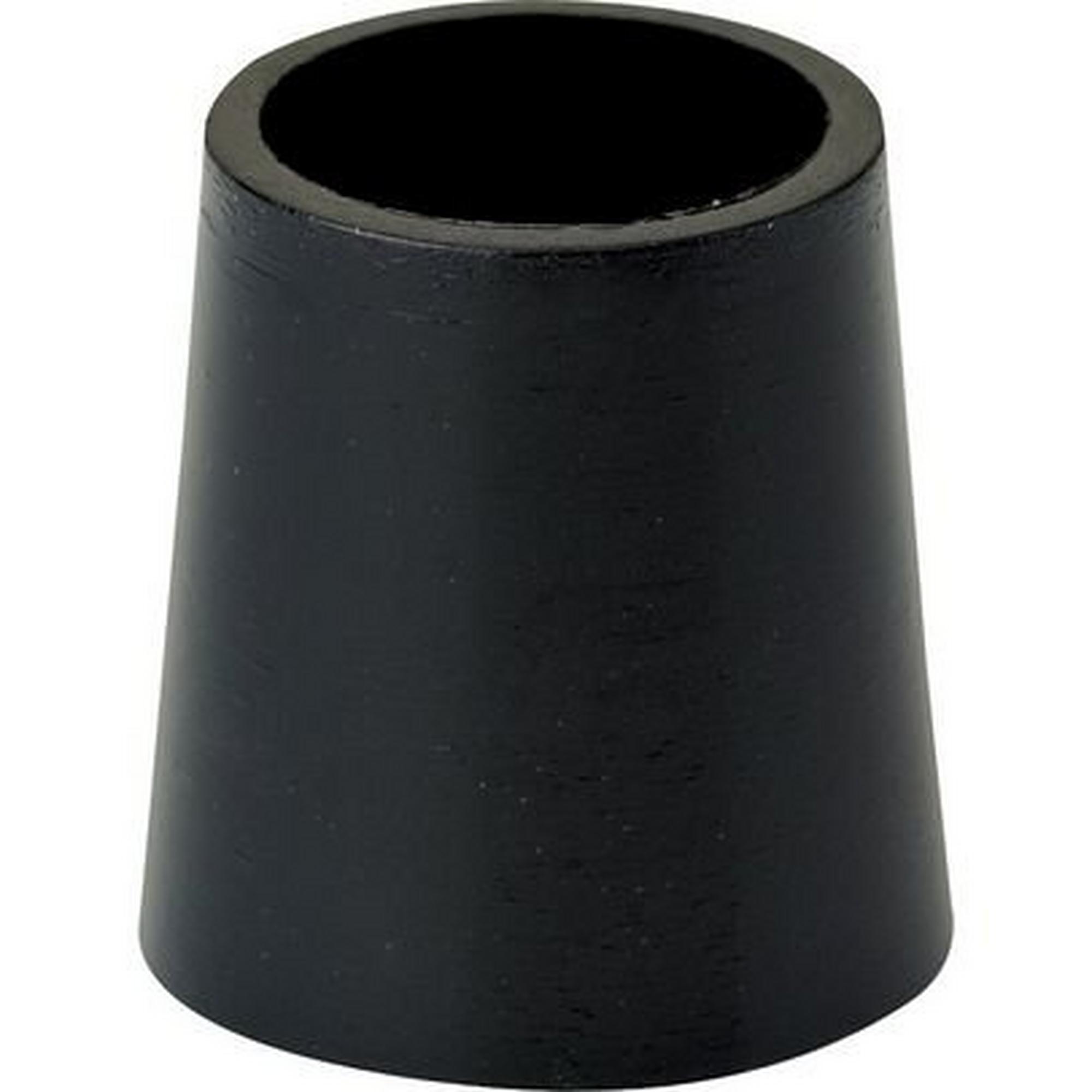 1/2 Inch X .350 Black Wood Ferrules Dozen