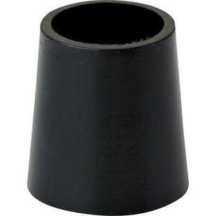 Ferrules de .5 po x .350 po pour bois, paquet de 12 - Noir