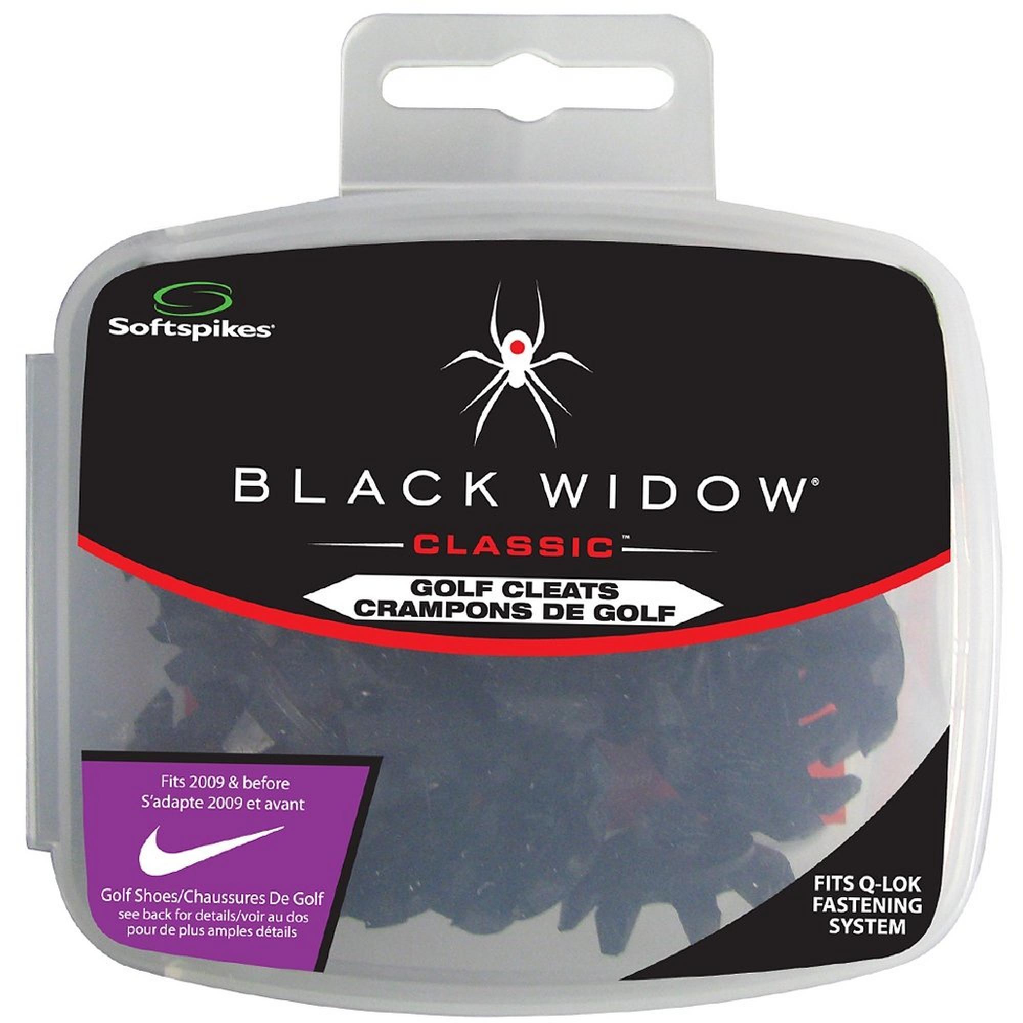 Crampons Black Widow Q-Fit de Softspikes (paquet de 22)