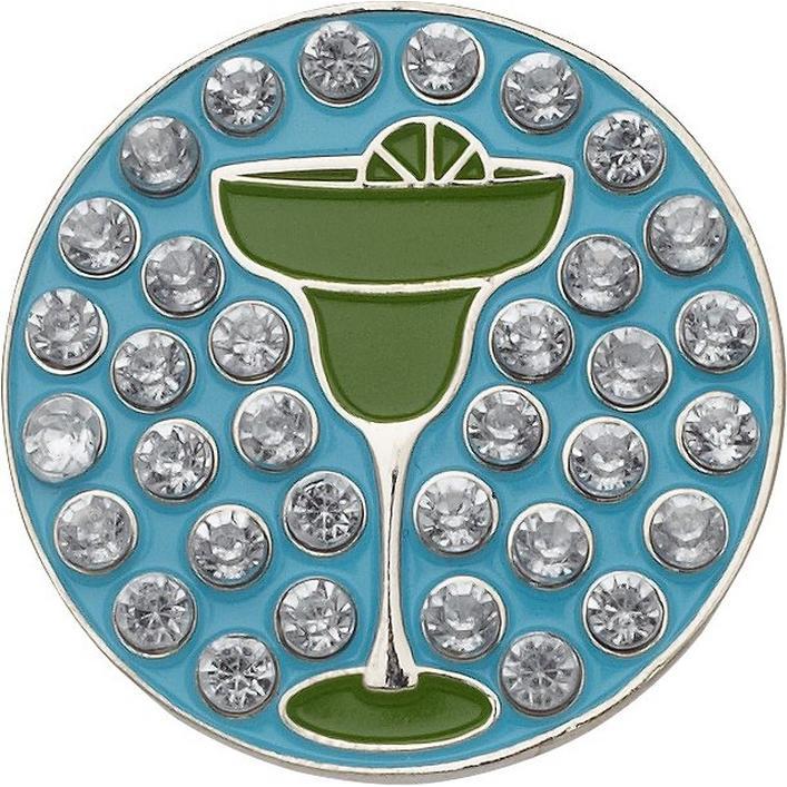 Marqueur de balle Margarita avec cristaux