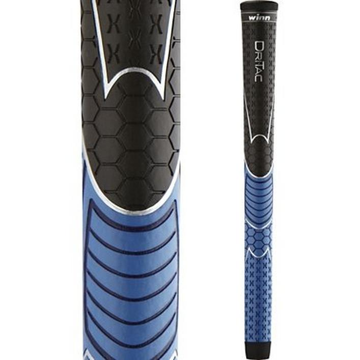 Dri-Tac Black/Blue Midsize Grip