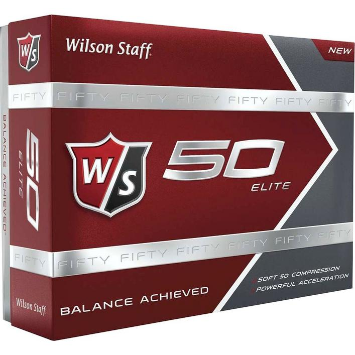 Fifty Elite Golf Balls - White