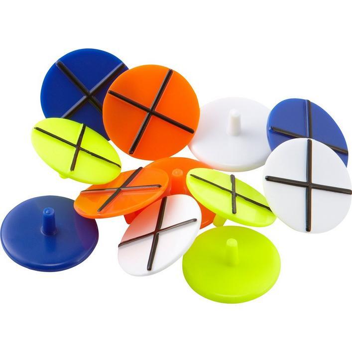 Marqueurs de balle avec alignement