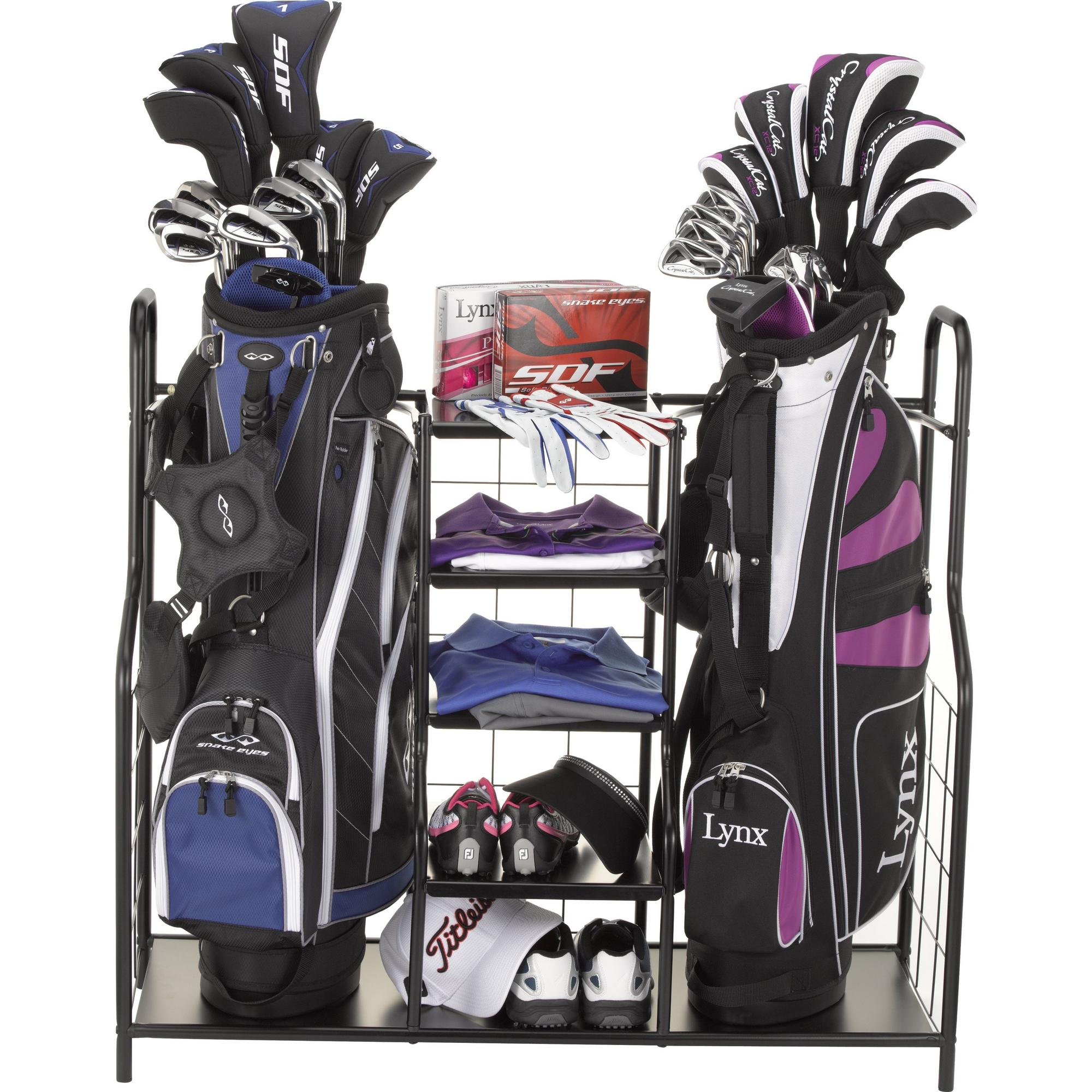 Double Metal Club and Bag Organizer