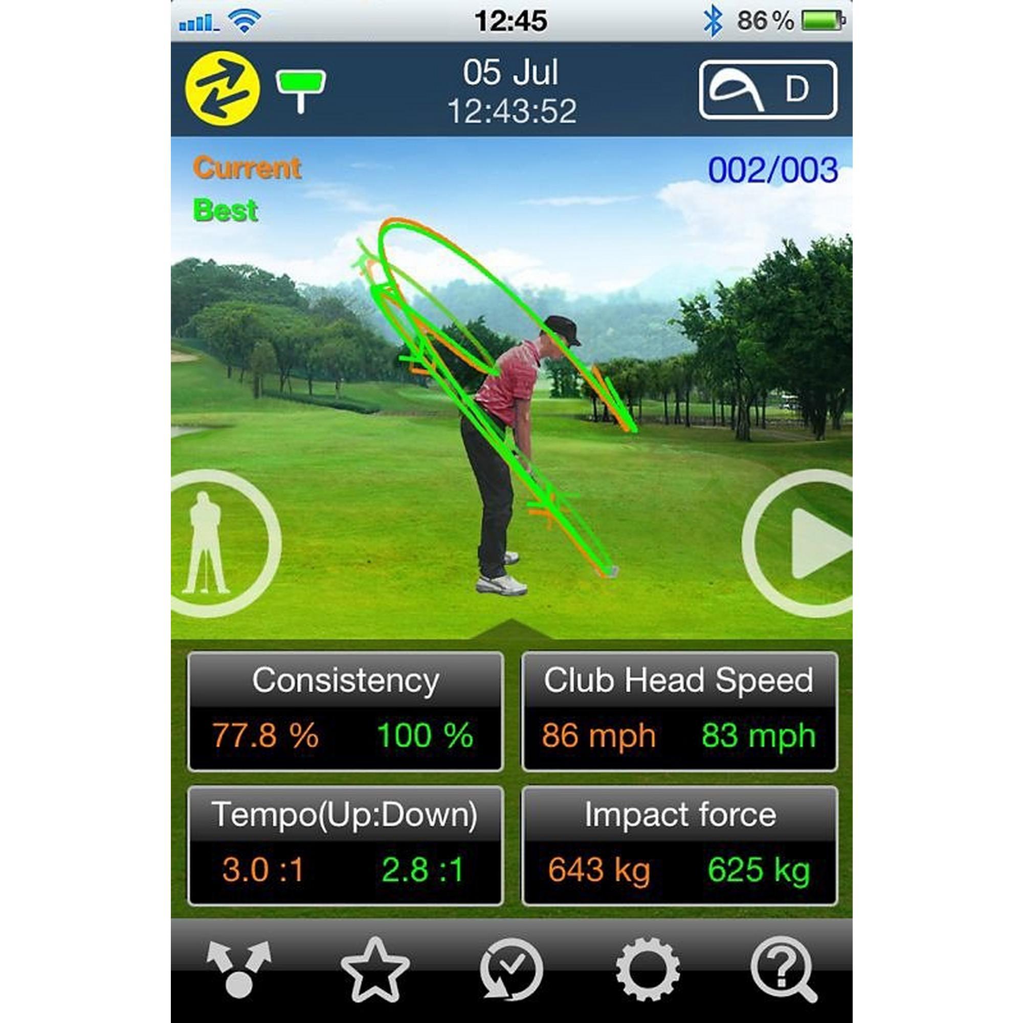 GSA PRO (Golf Swing Analyzer for Apple iOS)