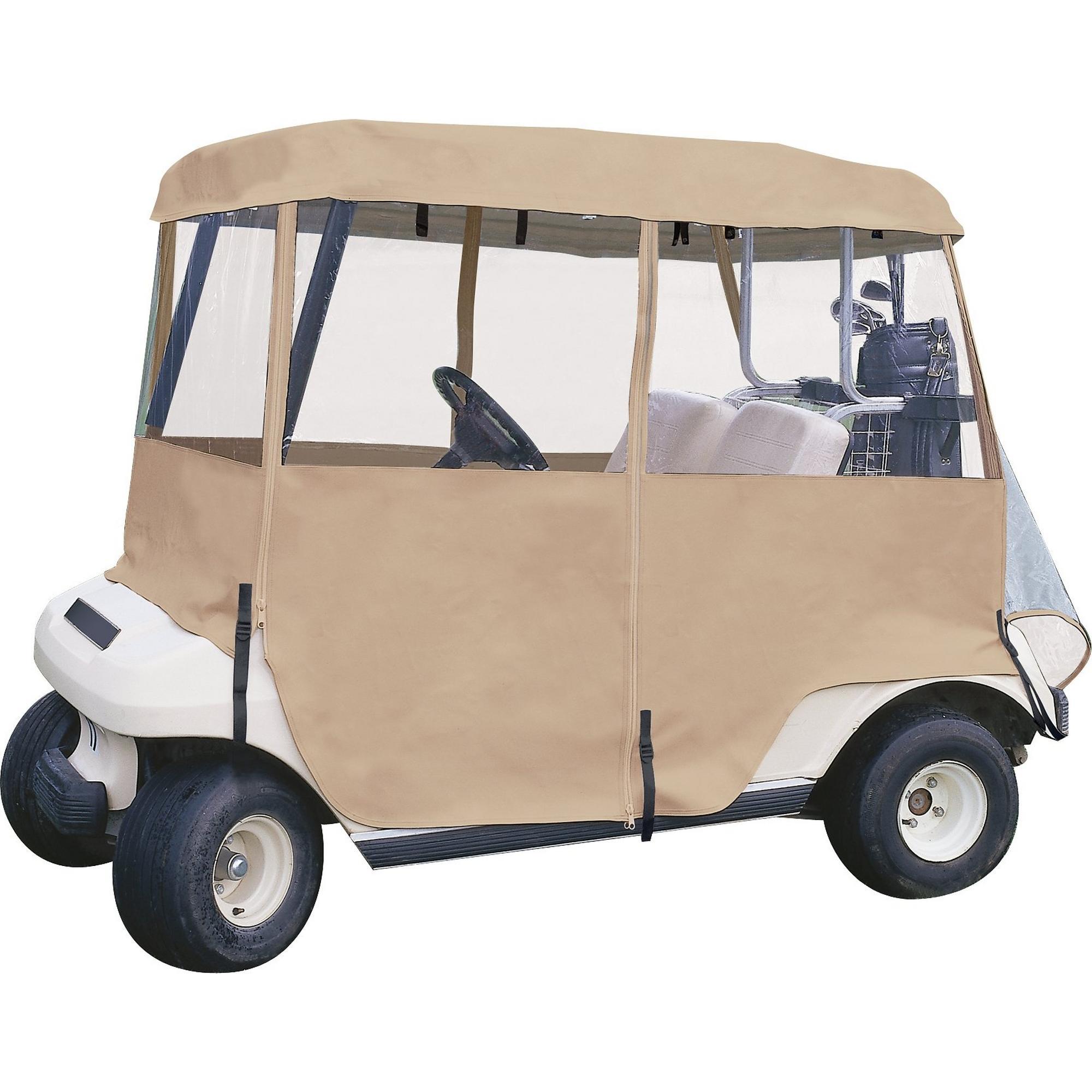 Housse de voiturette de luxe à 4 côtés