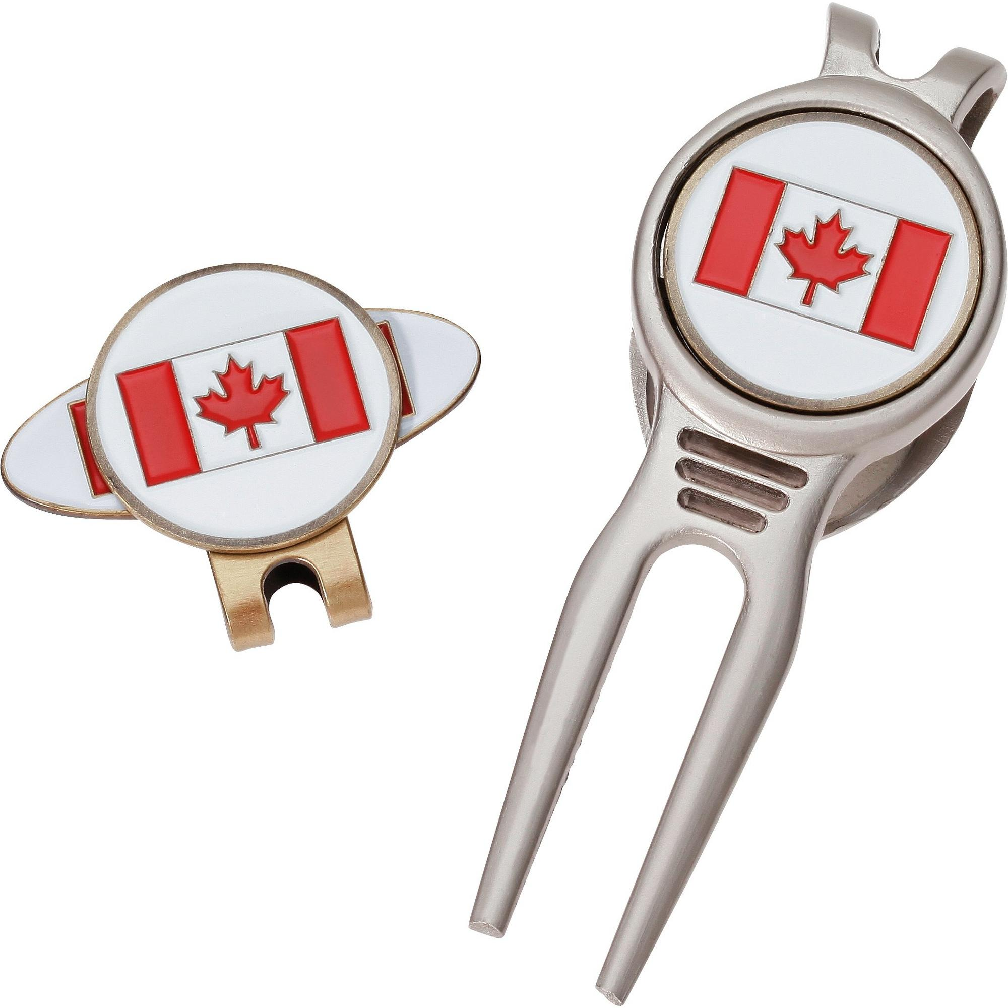 Canadian Flag Divot Tool Set