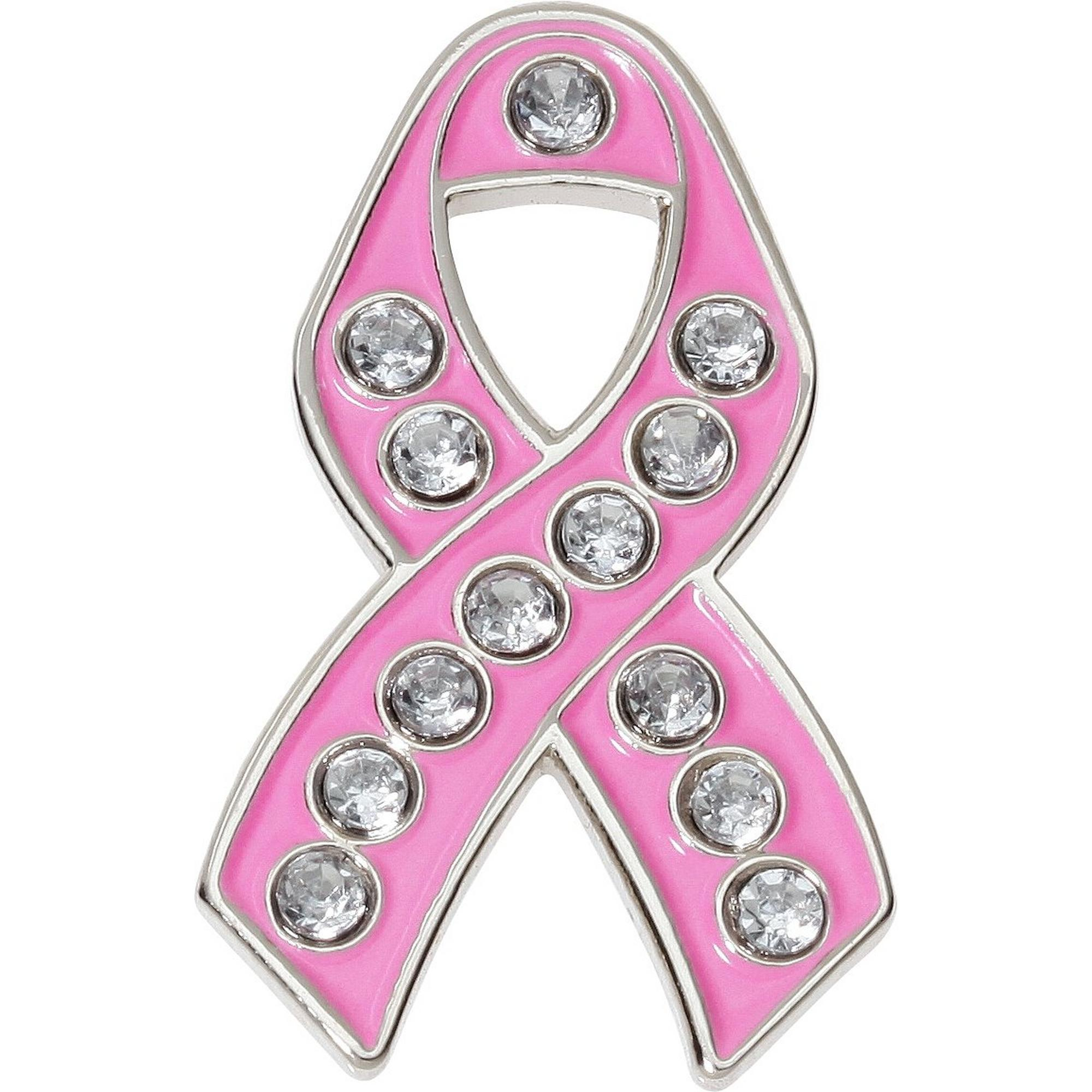 Breast Cancer Ribbon Ball Marker