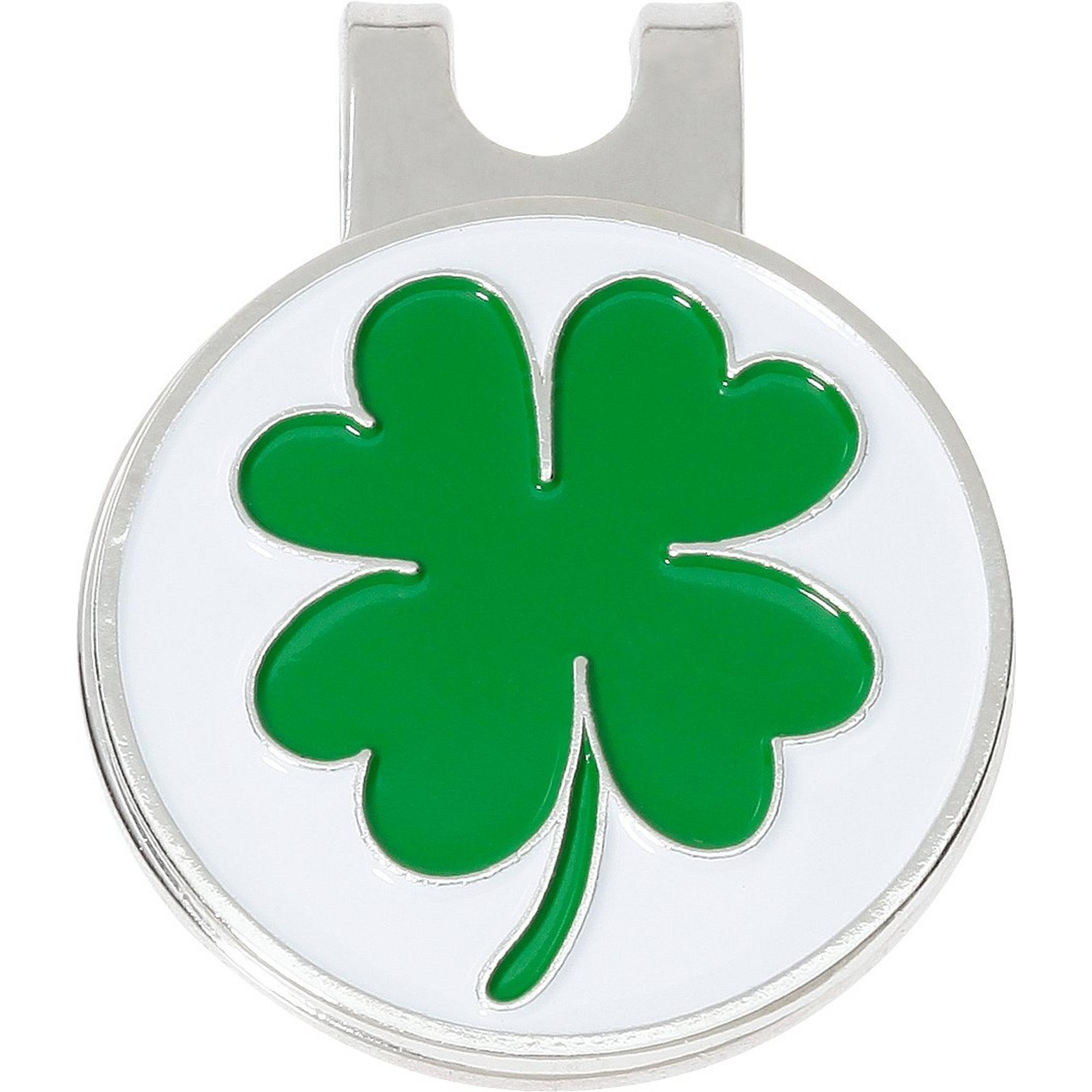 4 Leaf Clover Ball Marker with Cap Clip