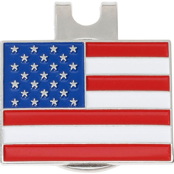 American Flag Ball Marker with Cap Clip