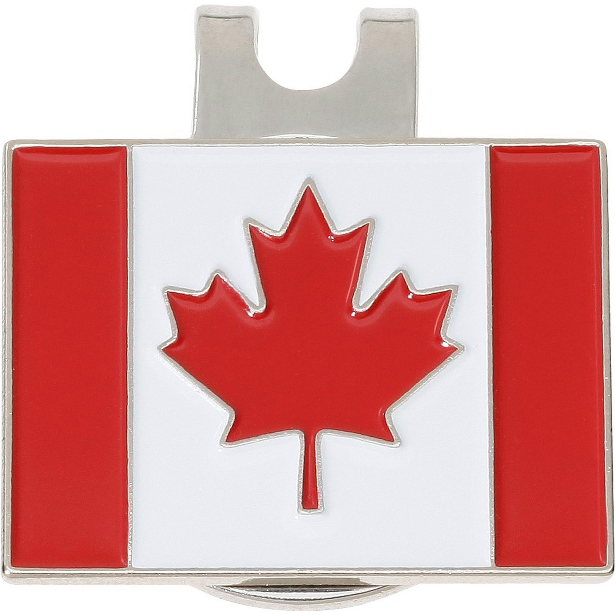 Canadian Flag Ball Marker with Cap Clip